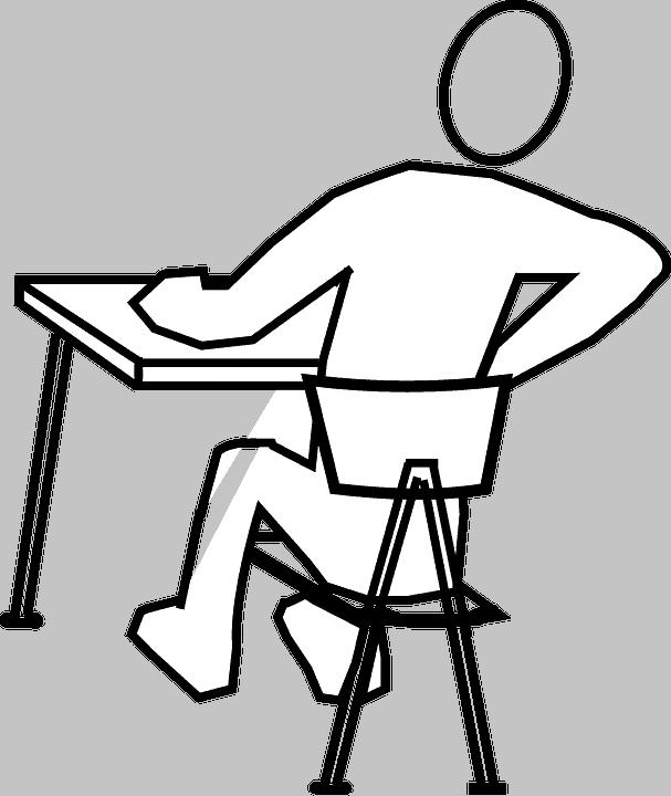 Болки в кръста офис стол