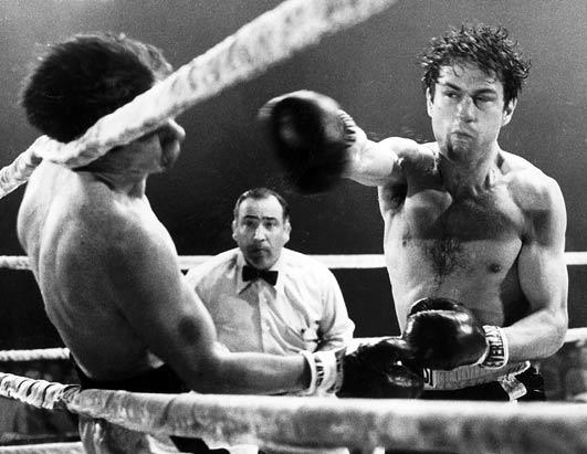 Разяреният бик - най-добрите филми с бокс