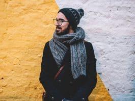 Плетен шал