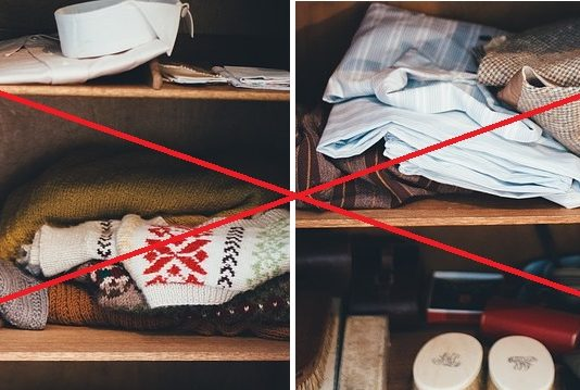 Как да подредим гардероба