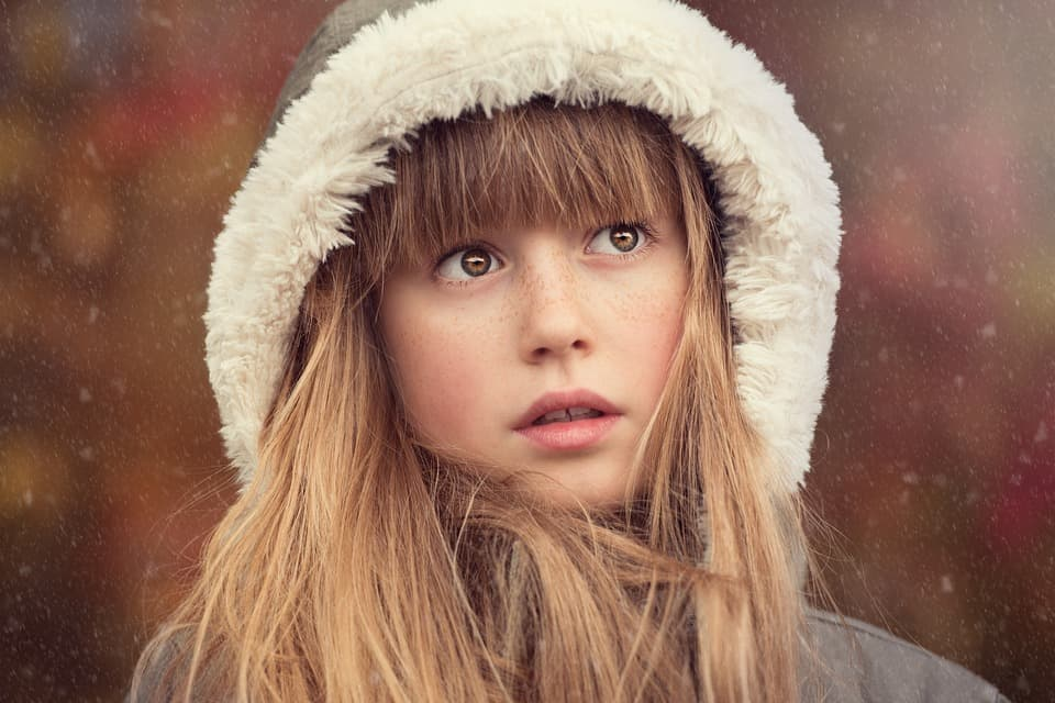 Зимна грижа за косата