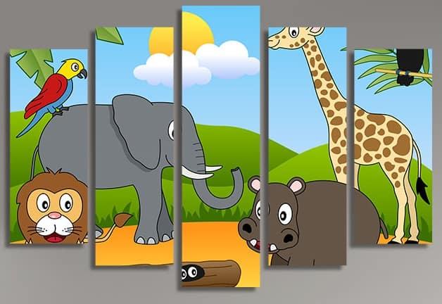 Детски панел за стена