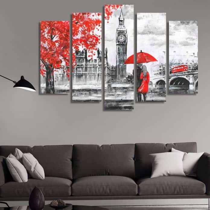 Картини за спалня - влюбени