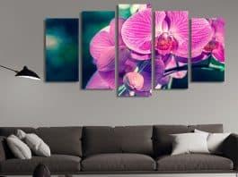 Картина с цвете - орхидея