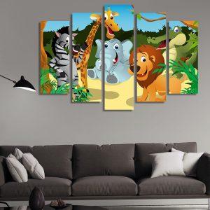 Декоративен панел за детска стая