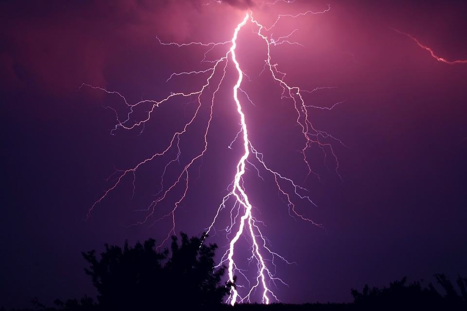 Прогноза за времето по гръмотевиците