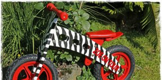 детски балансиращ велосипед