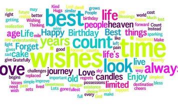 Най-хубавите пожелания за рожден ден