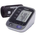 Електрически апарат за кръвно Omron M7 Intelli IT, Bluetooth, 0-299mmHg, 40-180 bp, Бял + Адаптер