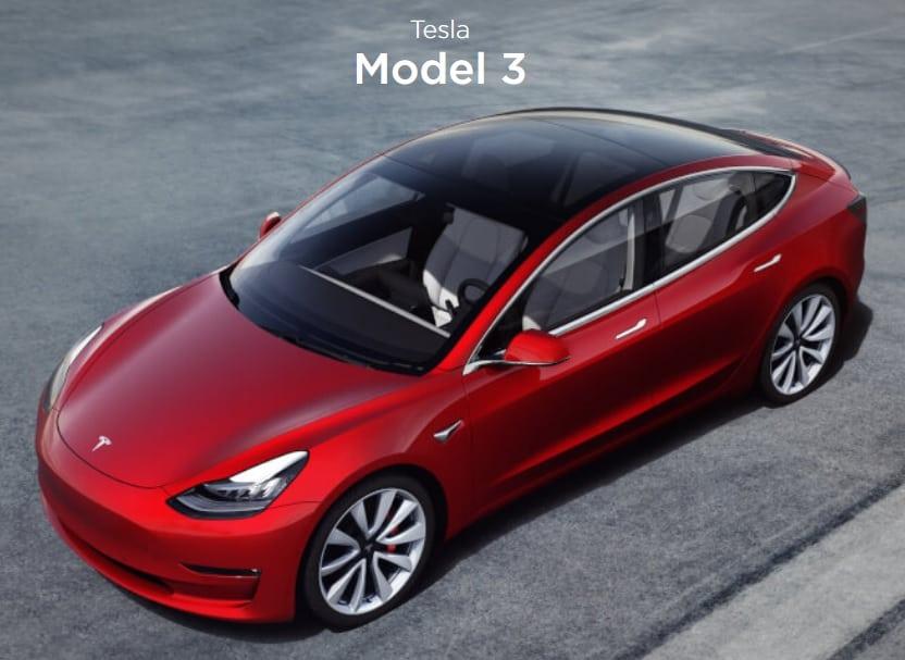 Тесла Модел 3