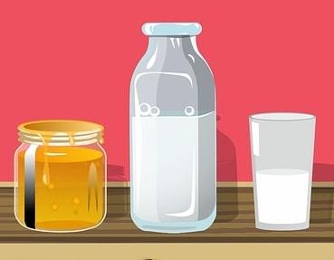 Маска за красива кожа с мляко и мед