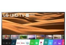 Телевизор LED Smart LG, 43 (108 см), 43UM7450PLA, 4K Ultra HD