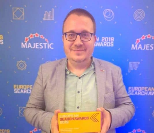 Борислав Арапчев SEO победител european-search-awards-2019
