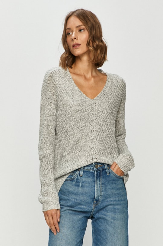 сив дамски пуловер
